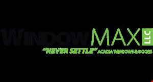 Window Max /Acadia Windows & Doors logo