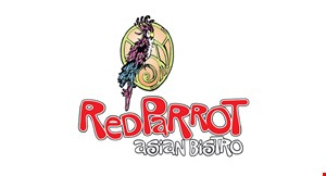 Red Parrot Asian Bistro logo
