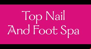 Top Nail and Foot Spa logo
