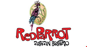 Red Parrott Asian Bistro Ellicott City logo