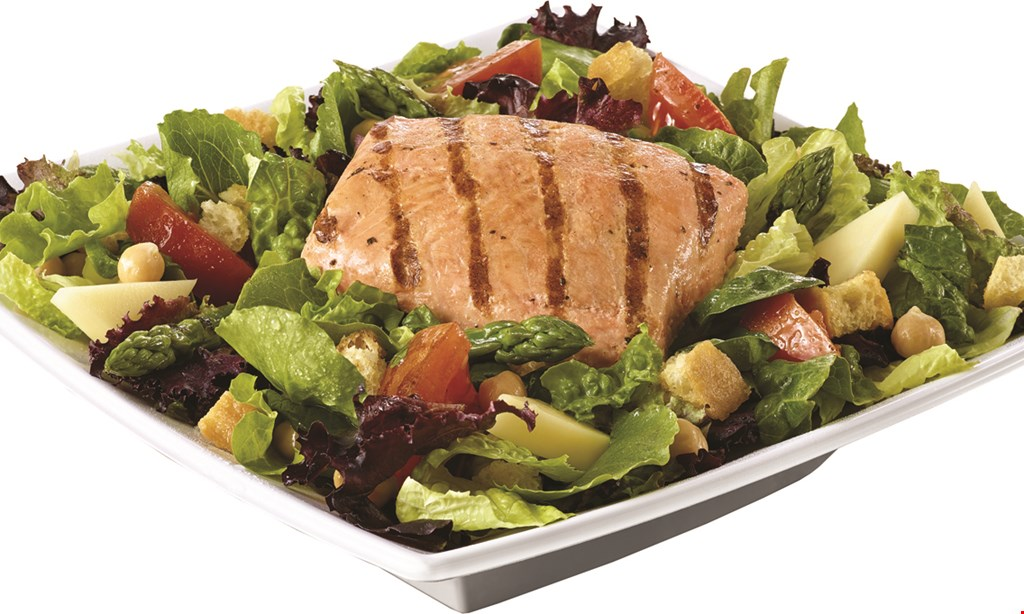 Product image for Saladworks $2 OFF any salad, wrap,or grain bowl.