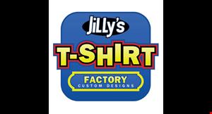 Jillys T Shirt Factory logo