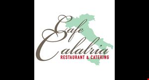 Cafe Calabria Restaurant & Catering logo