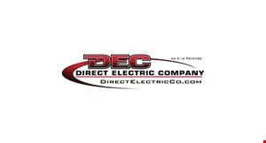 Product image for Direct Electric Company $25 referral by Dec.