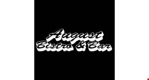 August Bistro & Bar logo