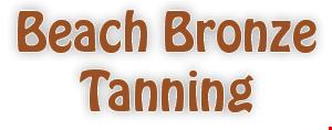 Beach Bronze  Tanning logo
