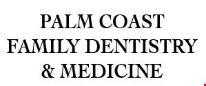 Palm Coast Family Dentistry & Medicine logo