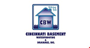 Product image for Cincinnati Basement Waterproofing & Drainage SAVE 15% OFF UP TO $1,500 ANY SERVICE.