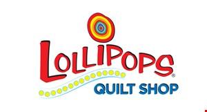 Lollipops Quilt Shop logo