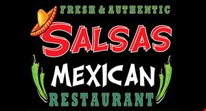 Salsas Mexican logo