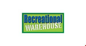 Product image for Recreational Warehouse No interest for 6 months