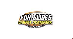 Fun Slides Carpet Skatepark logo