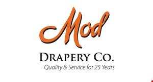 Mod Drapery Co. logo