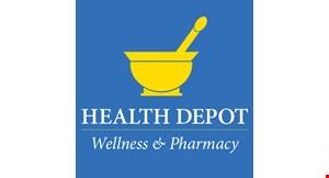 Health Depot Wellness & Pharmacy logo