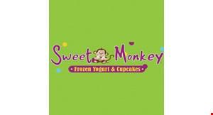 Sweet Monkey Frozen Yogurt & Cupcakes logo
