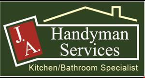 JA Handyman Services logo