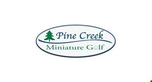 Pine Creek Miniature Golf logo