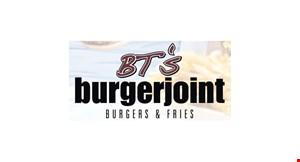 BT's Burgers Joint Sun Valley logo