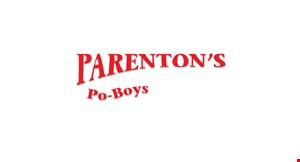 Parenton's Po-Boys logo