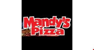 Mandy's Pizza logo