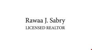 Rawaa J Sabry Licensed Realtor logo