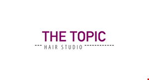 The Topic Hair Studio logo