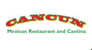 Product image for Cancun Mexican Restaurant & Cantina $24.99 2 fajita dinners beef or chicken