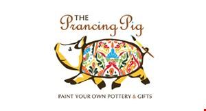 The Prancing Pig logo