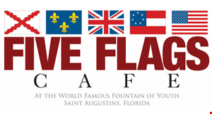 Five Flags Cafe logo
