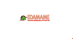 Edamame and Japenese Steakhouse and Sushi Bar logo