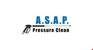 ASAP Pressure Clean logo