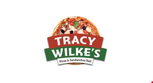 Tracy Wilke Pizza  and Sandwiches logo