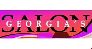 Georgia's Salon logo