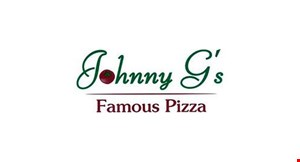 Johnny G's Famous Pizza logo