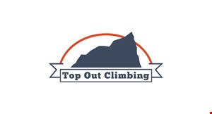 Top Out  Climbing logo