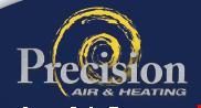 Precision Air and Heating logo