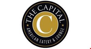 The Capital American Eatery & Lounge logo