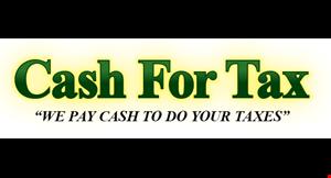 Cash for Tax LLC logo