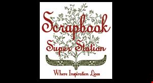 Product image for Scrapbook Super Station $5 off any purchase of $25 or more. $10 off any purchase of $50 or more