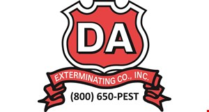 Da Exterminating Co., Inc. logo