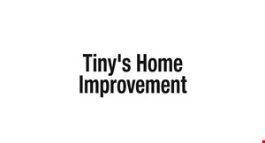 Tiny's Home Improvement LLC logo