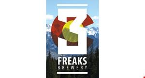 3 Freaks Brewery logo