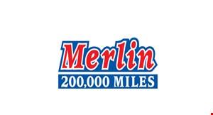 Merlin 200,000 Mile Shop - Plainfield logo