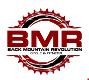 Back Mountain Revolution Cycle and Fitness logo