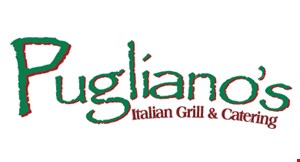 Product image for Pugliano's Italian Grill & Catering 15% off any takeout order