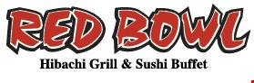 Red Bowl Hibachi Grill & Sushi Buffet logo