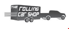 Rolling Car Shop, The logo