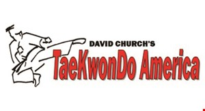 David  Church's Taekwondo  America logo