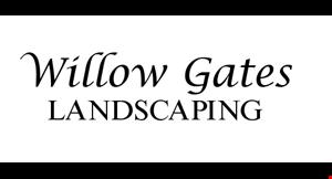 Willow Gates   Landscaping logo