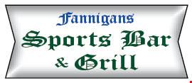 Fannigans Sports Bar and Grill logo